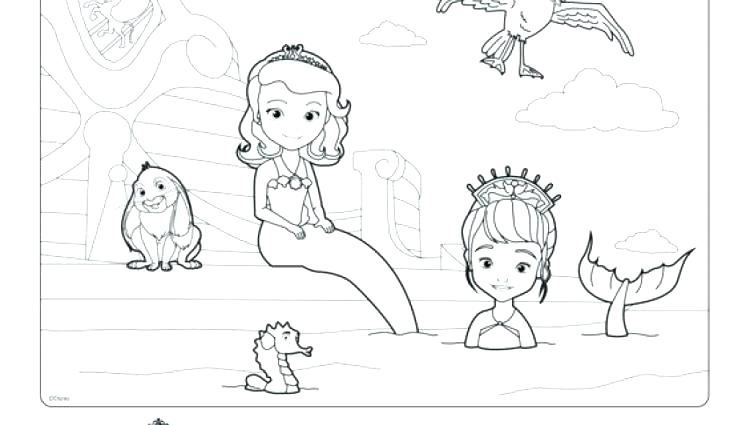 750x425 Coloring Pages Sofia The First Coloring Pages Of The First Trends
