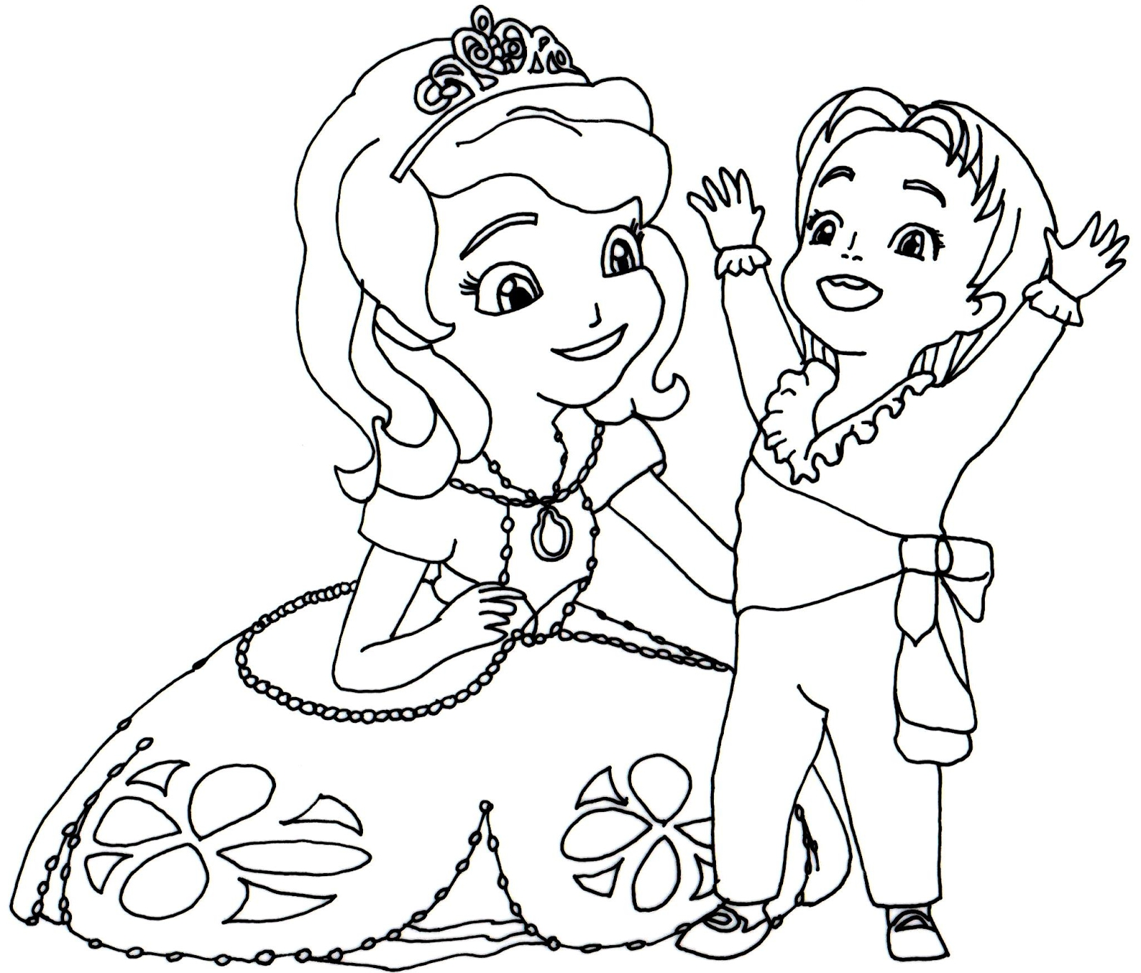 1600x1365 Cool Sofia The First Coloring Pages To Print Disney Coloring Pages