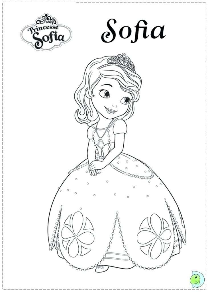 Sofia The First Printable Coloring Pages At Getdrawings Com Free