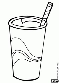 236x330 Ice Tea Color Page, Drink Coloring Pages, Color Plate, Coloring