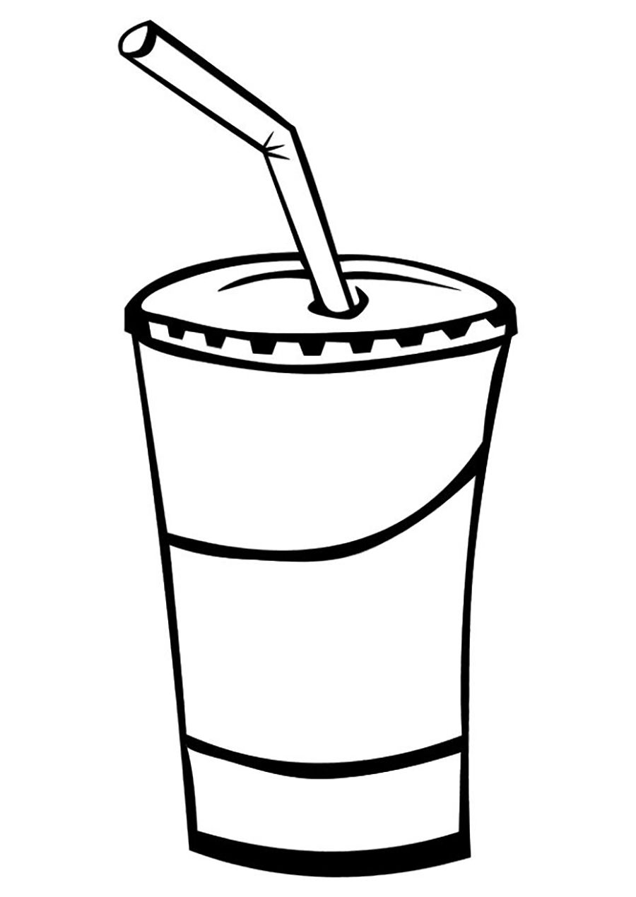 900x1270 Juice Drinks Drinks Coloring Pages Juice Drinks