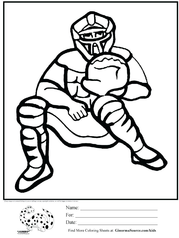 736x977 Wildcat Coloring Page Softball Coloring Sheets With The Letter J