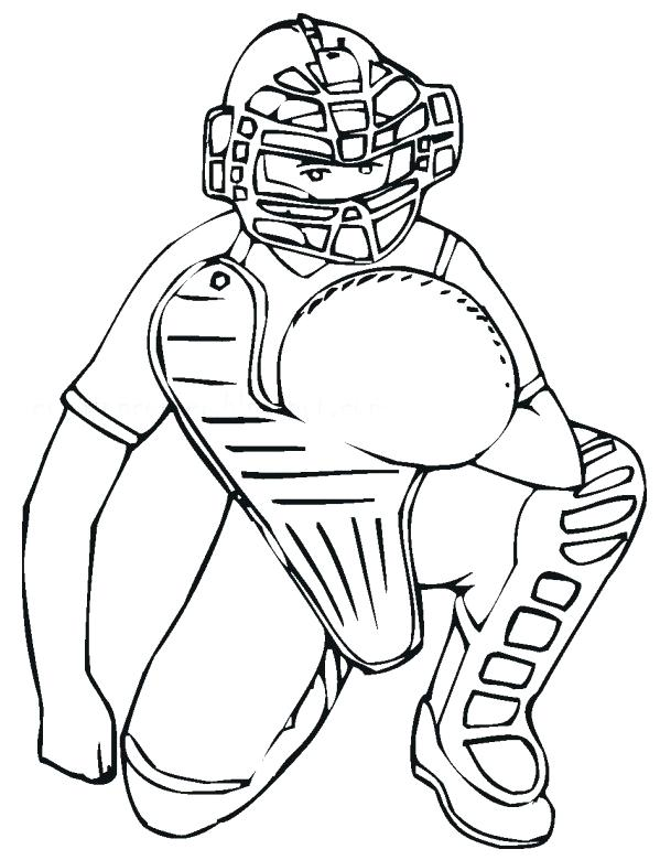 599x780 Softball Coloring Pages Softball Coloring Sheets Surprising