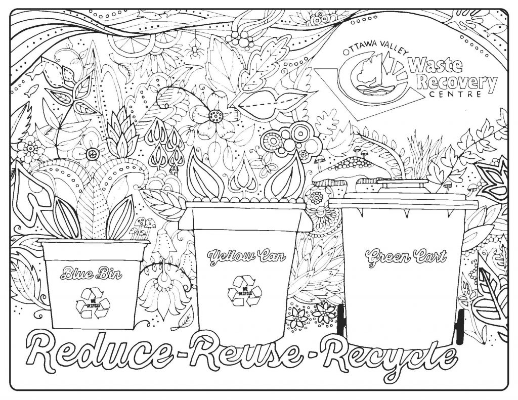 1024x791 Kids Colouring Pages Ottawa Valley Waste Recovery Centre