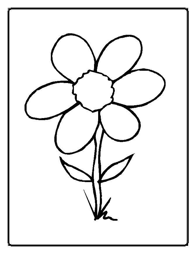 671x869 Dibujos De Flores Para Imprimir Y Dibujos Para