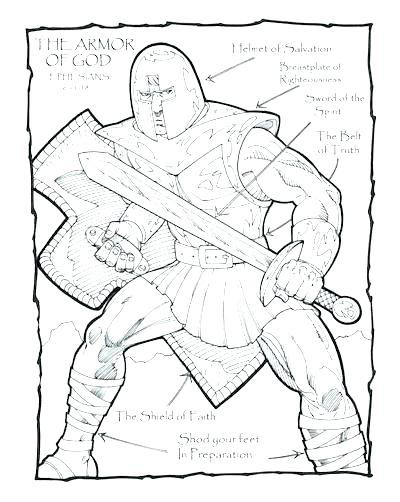 400x502 Shield Of Faith Coloring Page Shield Of Faith Coloring Page