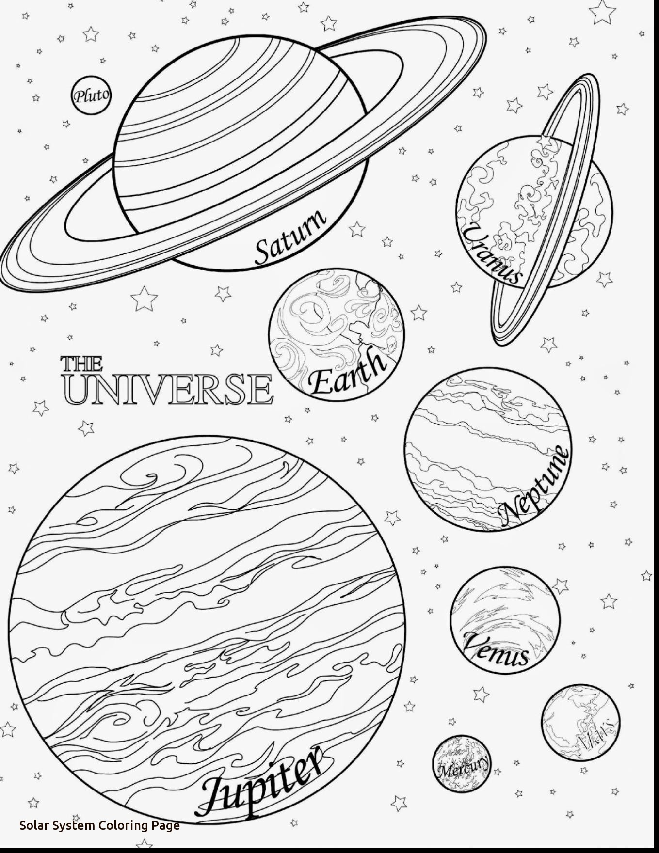 1359x1760 Solar System Coloring Page
