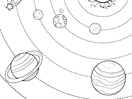 440x330 Solar System Coloring Pages Solar System Coloring Pages Photos