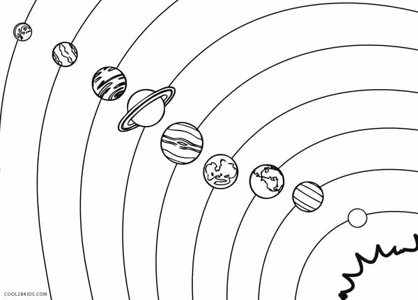 600x431 Solar System Coloring Pages For Preschoolers Printable Solar