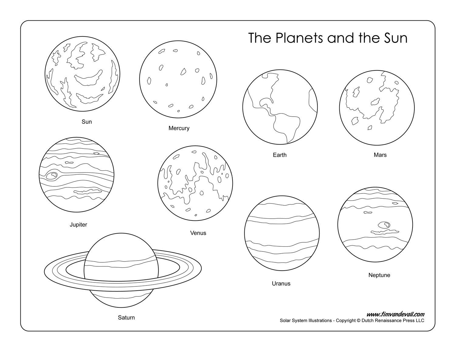 1500x1159 Eclipse Coloring Pages Best Of The Planets In Solar System