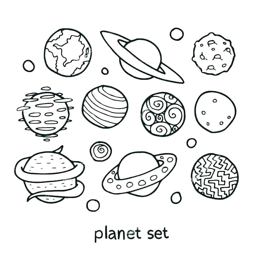 863x863 Solar System Coloring Pages Coloring Pages Of The Solar System