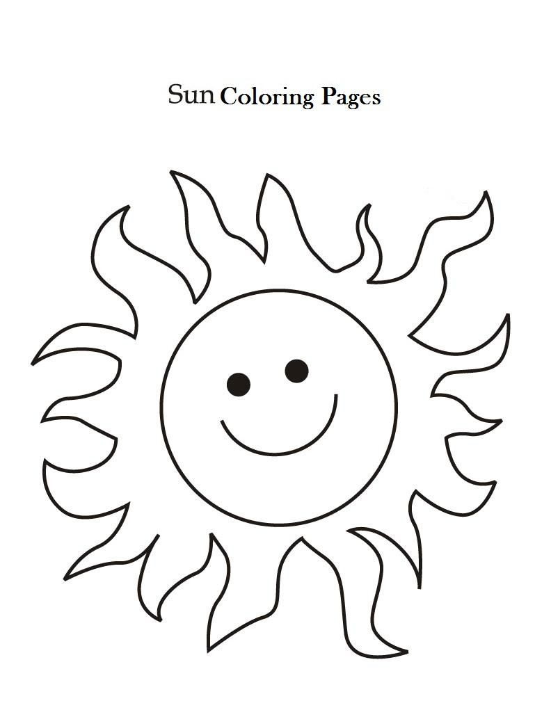 792x1008 Sun Coloring Pages Free Printables Solar System And Throughout