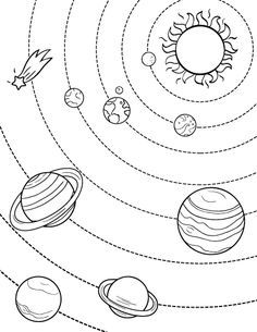 236x305 Printable Solar System Coloring Page Free Pdf Download