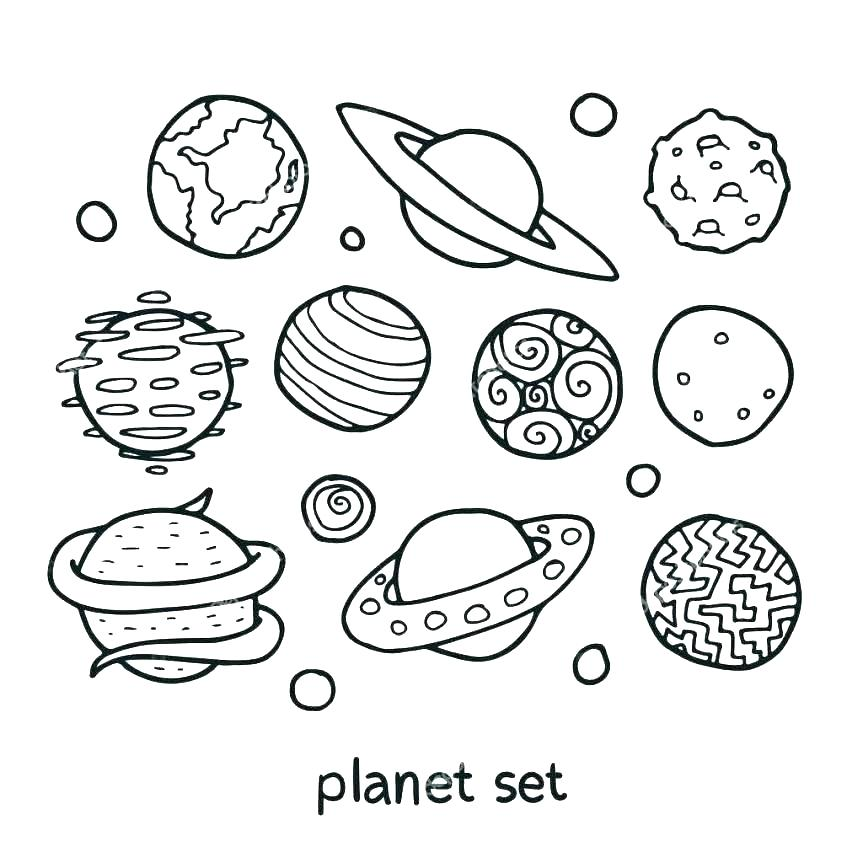 863x863 Solar System Coloring Page Solar System Color Pages Solar System