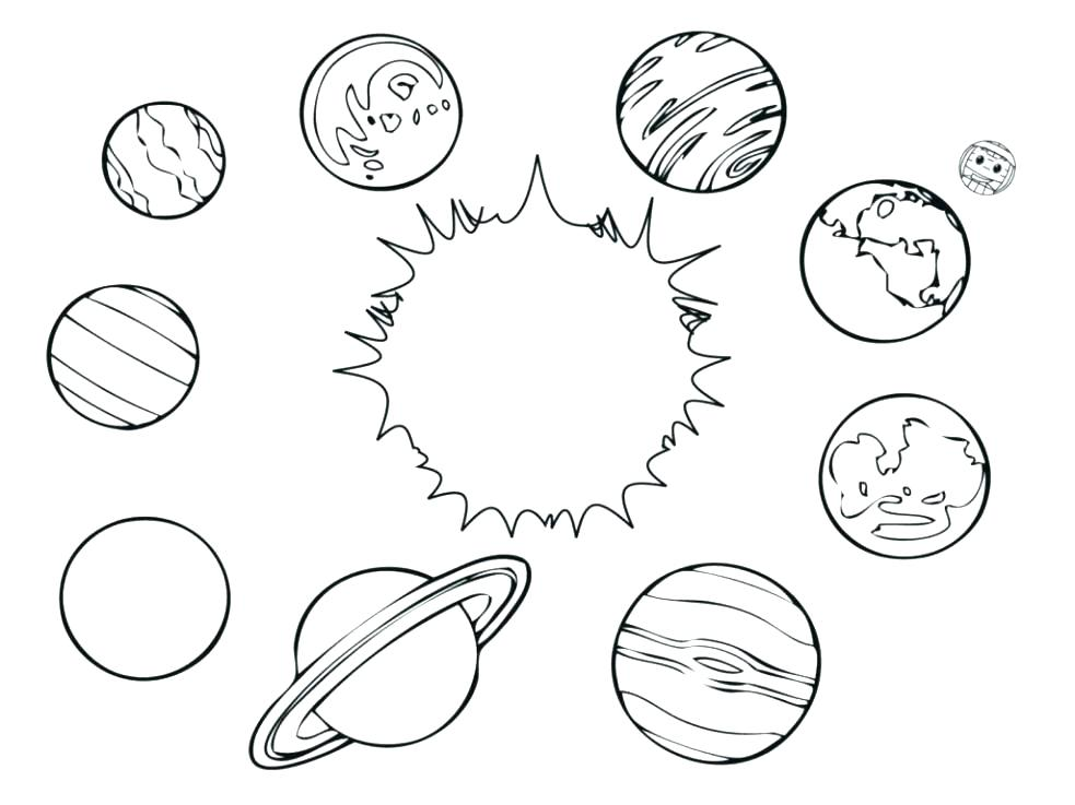 Solar System Coloring Pages At Getdrawings Com Free For Personal