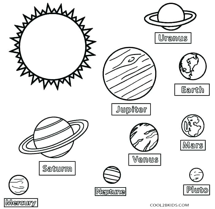 700x681 Coloring Pages Of The Solar System Solar System Coloring Pages