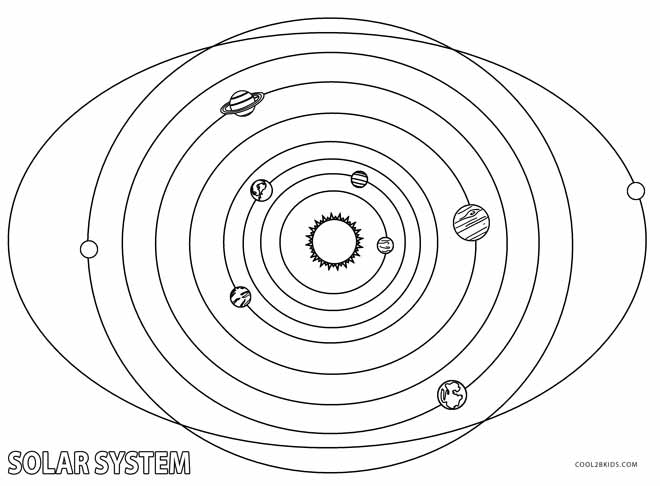 660x486 Printable Solar System Coloring Pages For Kids