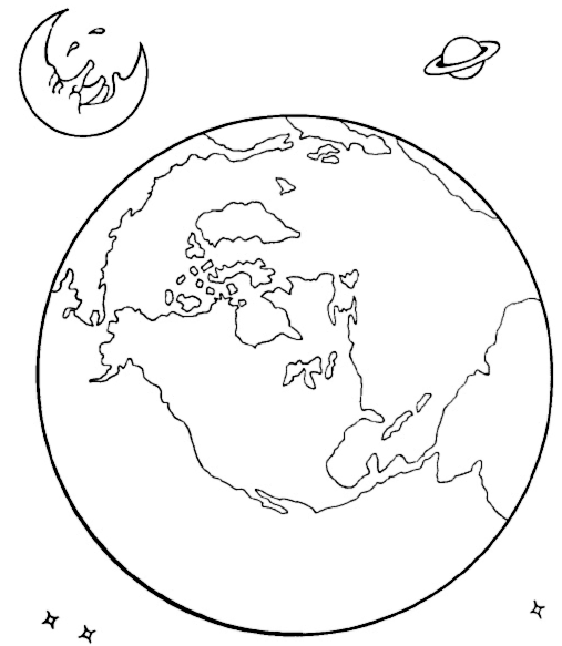 507x583 Solar System Coloring Pages Coloring Page Color Pages