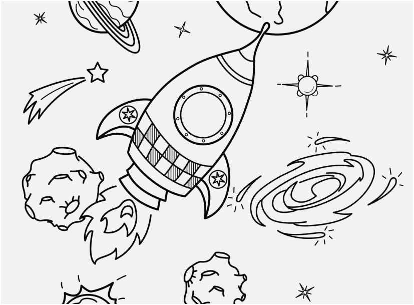 827x609 Solar System Coloring Pages Graphic Space Coloring Pages For Kids