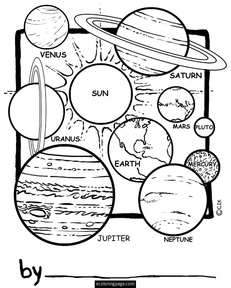 800x997 Space Solar System Planets Coloring Pages For Kids Printable