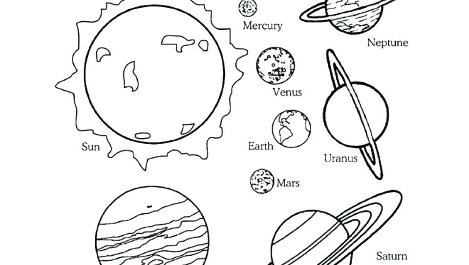 Solar System Coloring Pages Pdf at GetDrawings   Free download