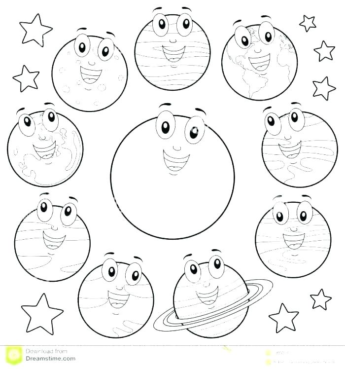 Solar System Coloring Pages Pdf At Getdrawings Com Free For
