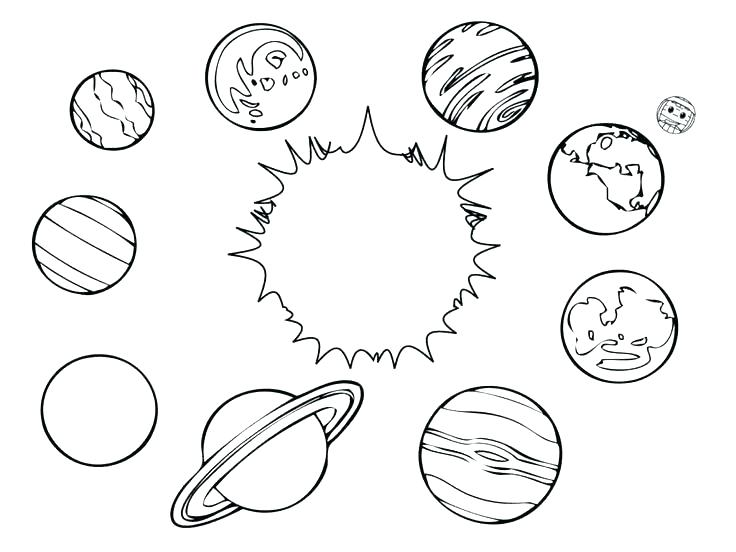 736x552 Outer Space Coloring Pages Outer Space Coloring Pages Outer Space