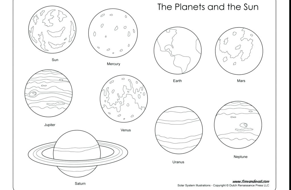 1024x670 Planet Coloring Page Brilliant Planets Solar System Coloring Pages