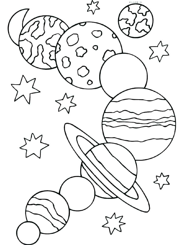 Solar System Planets Coloring Pages at GetDrawings.com | Free for ...