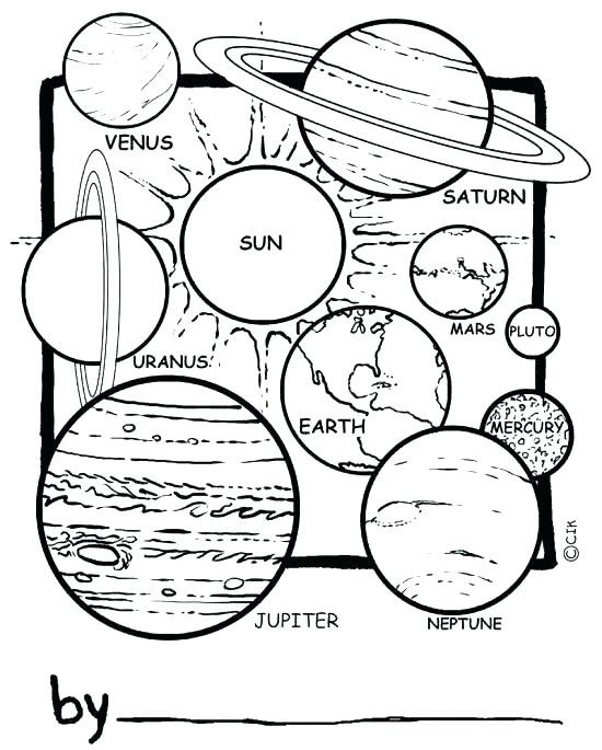 550x685 Solar System Coloring Pages Planets Coloring Pages Coloring Pages