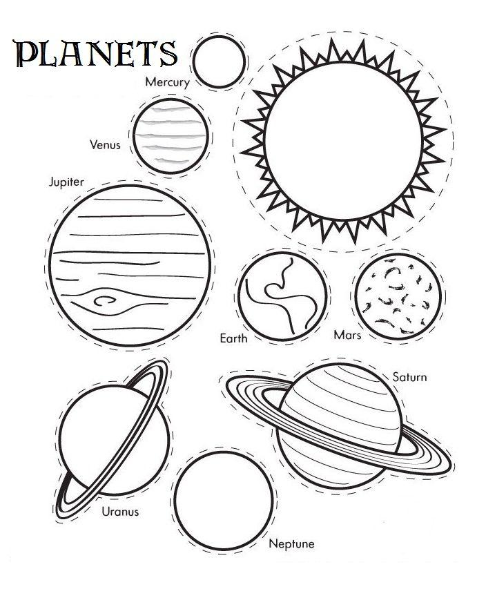 704x853 Solar System Craft Solar System, Planets And Solar