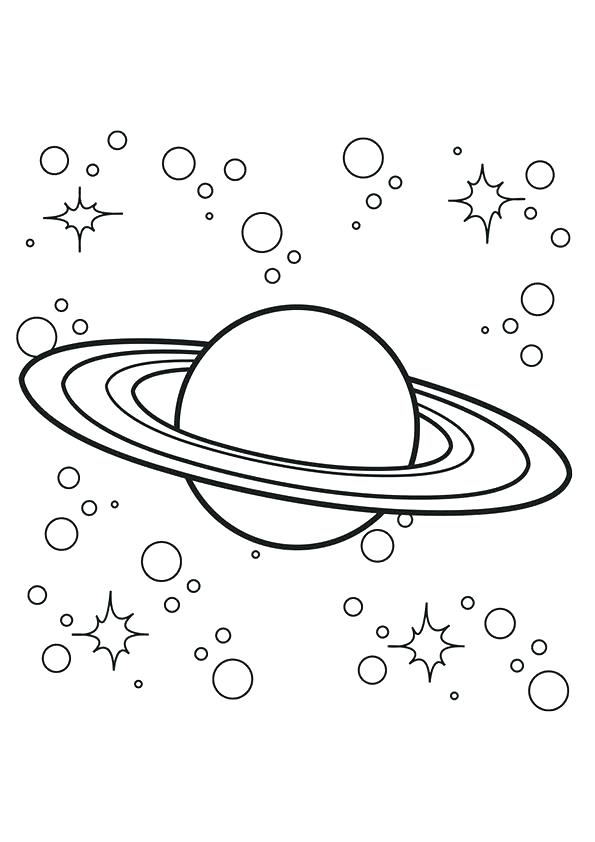 595x842 Coloring Pages Of The Solar System Planets Coloring Book Also