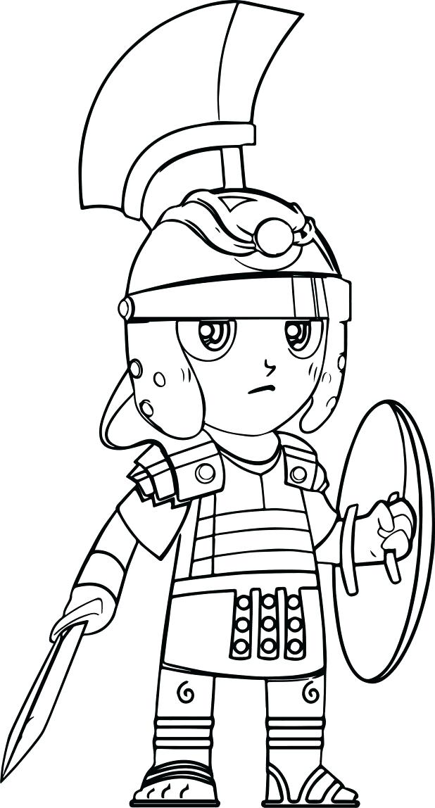 618x1148 Army Soldier Coloring Sheet Cartoon Roman Soldier Pictures