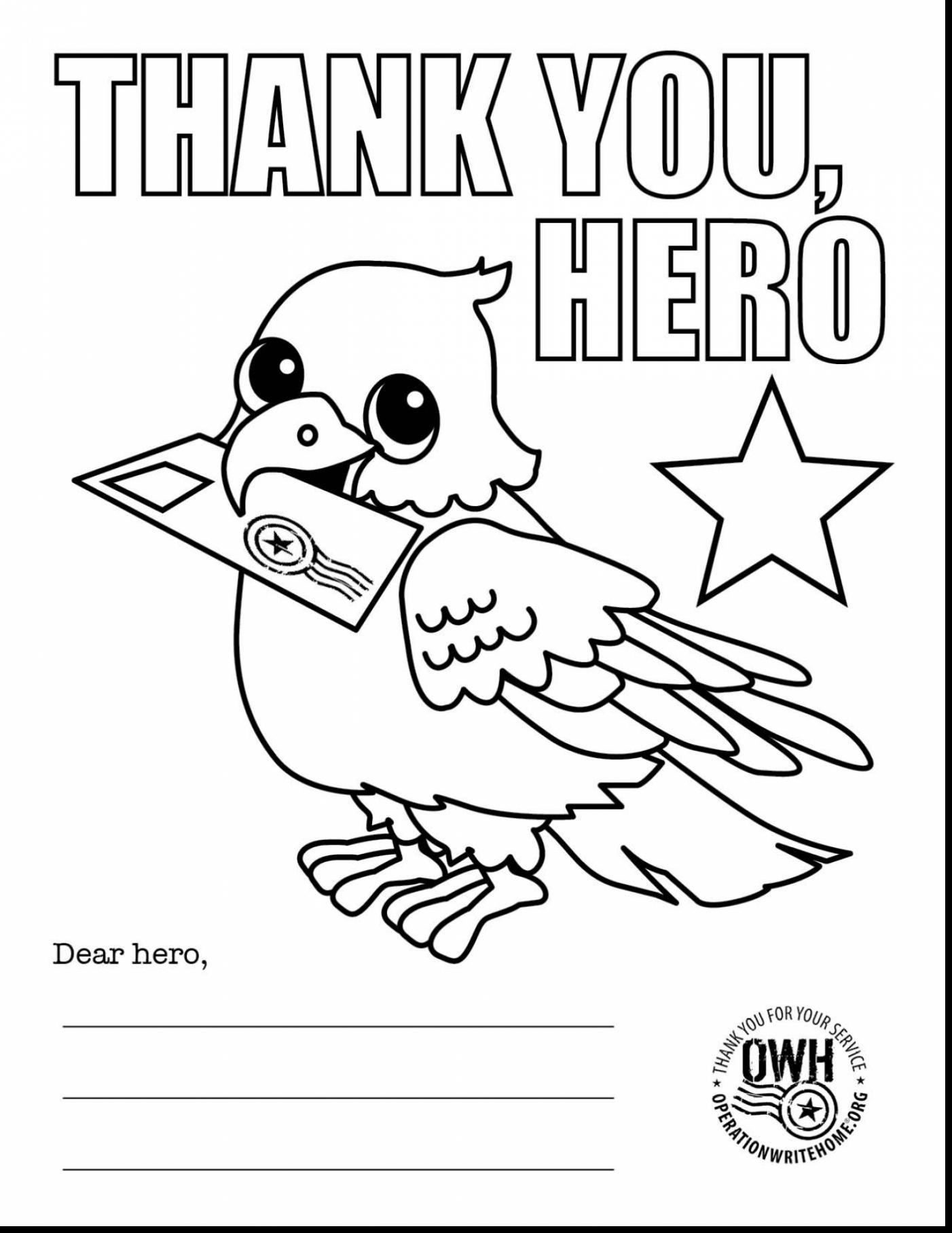 1402x1815 With Thank You Soldier Coloring Page