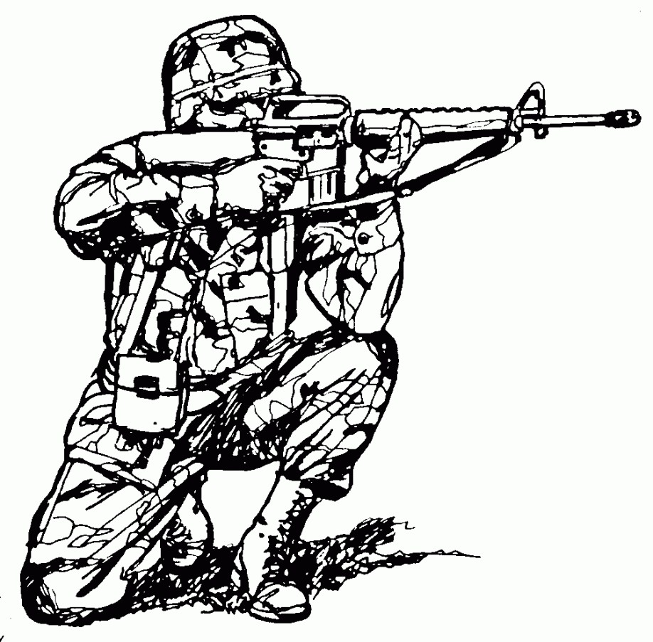 918x903 Army Soldier Coloring Page You Can Print Out This Inside Pages