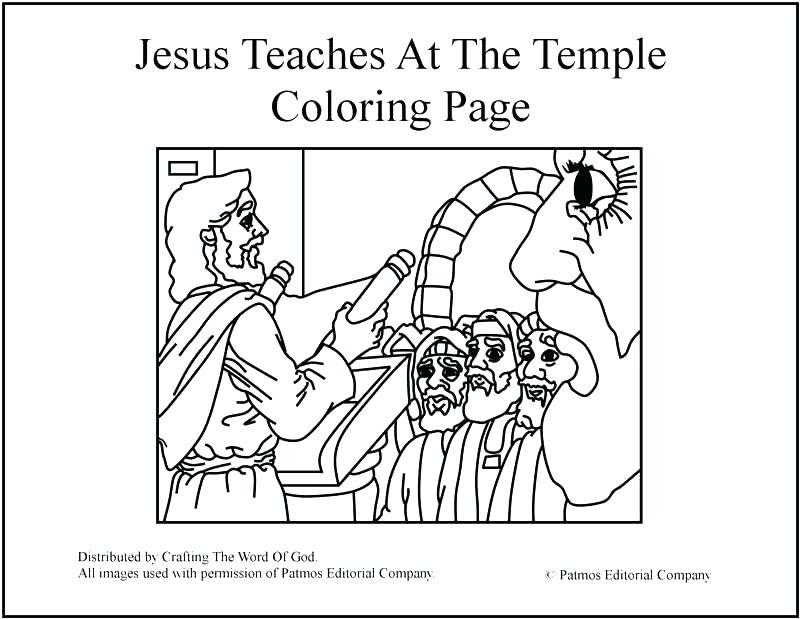 800x619 King Solomon Coloring Pages King Solomon Builds The Temple