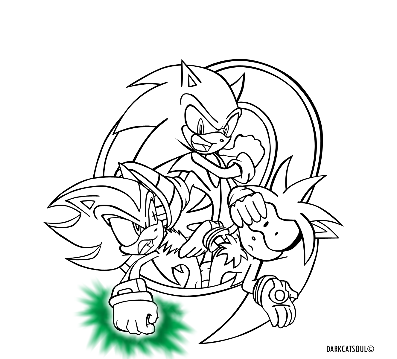 1327x1200 Innovative Super Shadow The Hedgehog Coloring