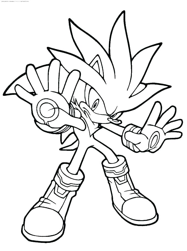 736x985 Dark Sonic Colouring Pages Super Coloring Sheet The Hedgehog