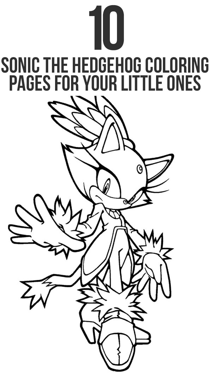 736x1343 Sonic Characters Coloring Pages Mosm