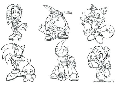 440x330 Sonic Coloring Pages Disney Coloring Pages For Kids Color Pages