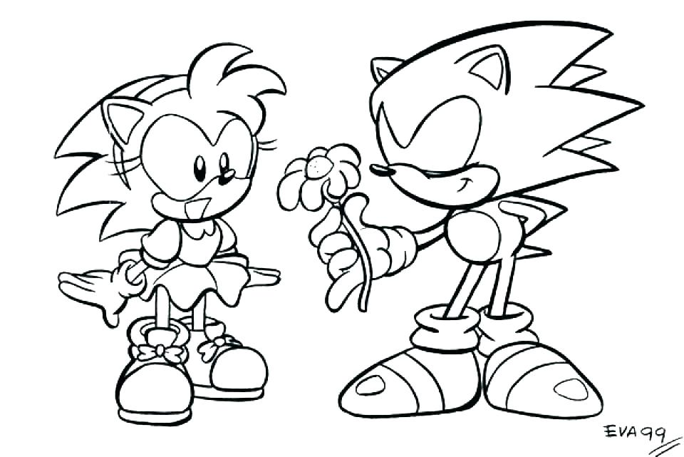 Sonic Coloring Pages At GetDrawings Free Download