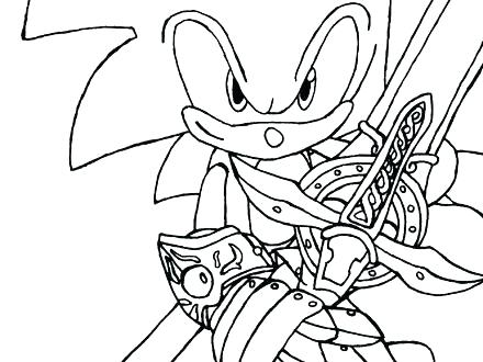 440x330 Free Printable Sonic The Hedgehog Coloring Pages Free Printable