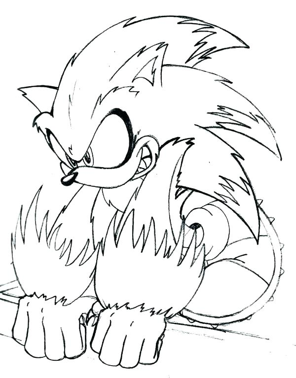 600x767 Free Sonic Coloring Pages Sonic Coloring Pages Free Printable Free