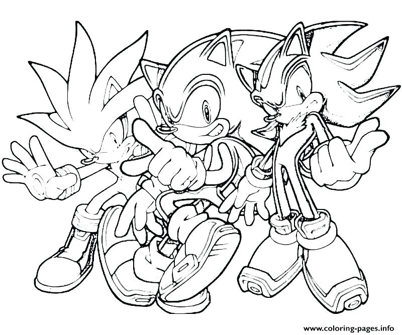 800x667 Sonic Coloring Pages Printable The Sonic Team Coloring Pages Free