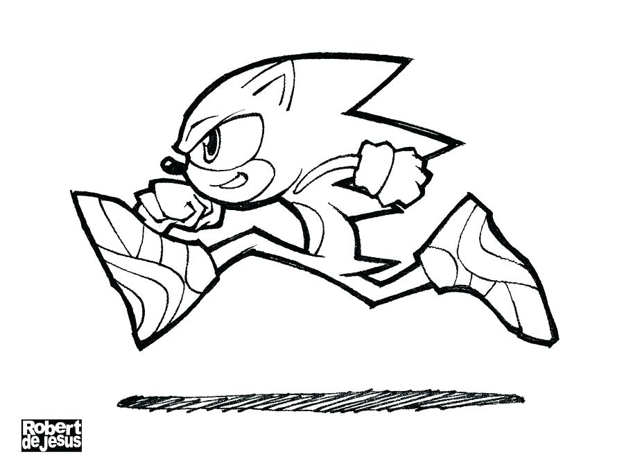 900x675 Sonic The Hedgehog Free Coloring Pages Free Printable Sonic