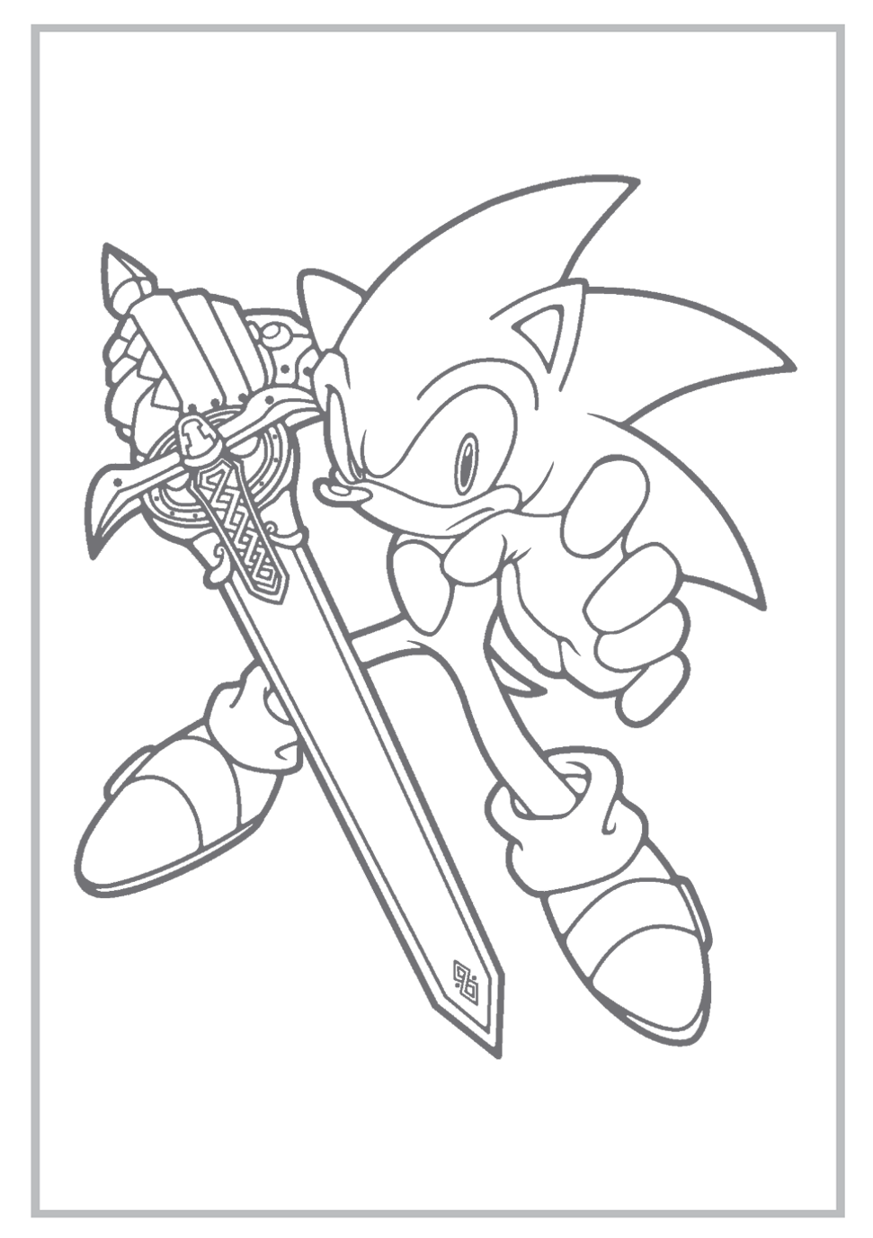 971x1377 Sonic Coloring Pages Sonic The Hedgehog Coloring Pages Free