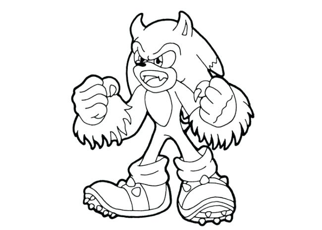 650x464 Sonic Color Page Sonic Coloring Pages Printable Sonic Colouring