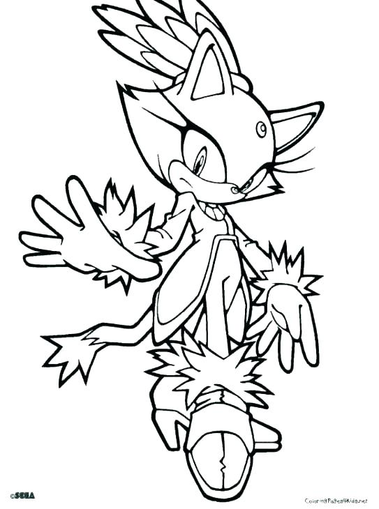 543x730 Free Sonic Coloring Pages Sonic Coloring Page Sonic Shadow Sonic