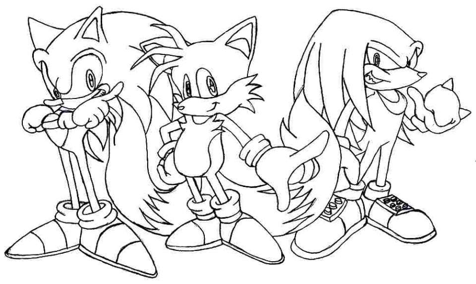 Sonic Coloring Pages To Print at GetDrawings | Free download