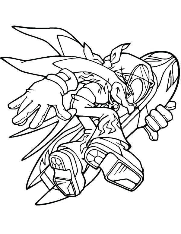 600x776 Outstanding Sonic Colors Coloring Pages Sonic Coloring Pages